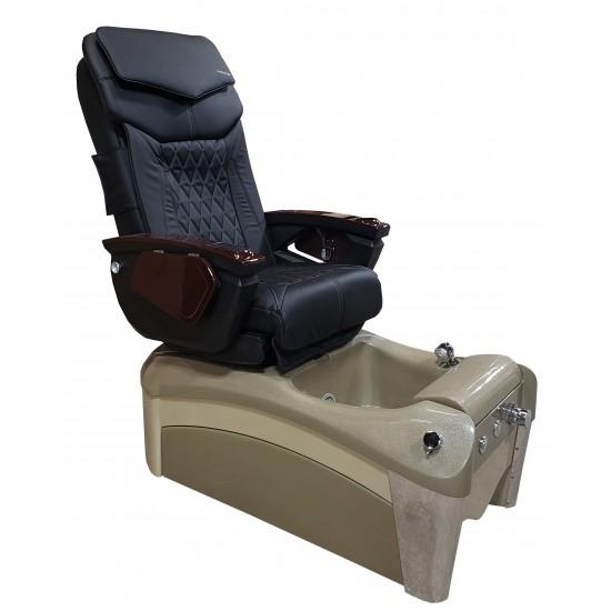 Nova Pedicure Spa Chair (Cappuccino/Cream)