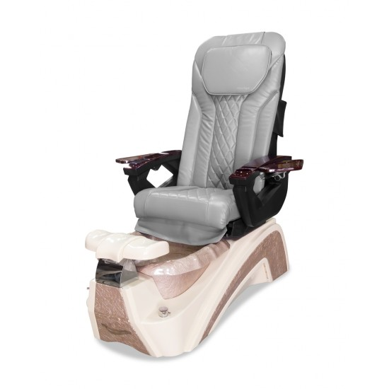 Versai Spa Pedicure Chair (White/Rose Gold)