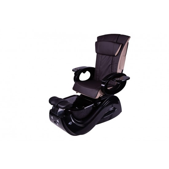 PC-813 Pedicure Chair with Pipeless Magnetic Jet  (Black Base)