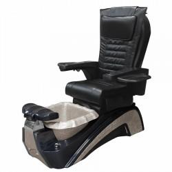 Versai AX Pipeless Spa Pedicure Massage Chair (Black-Rose Gold)