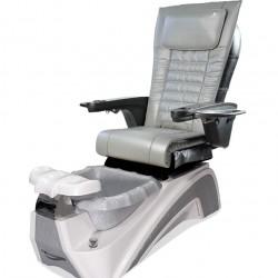 Versai AX Pipeless Spa Pedicure Chair White/Silver