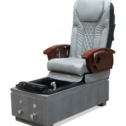 Sakura Full Function Massage Pedicure Chair (Ash/Grey)