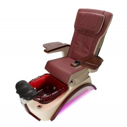 PC-815  Pedicure Chair with Pipeless Magnetic Jet (Red Ruby)