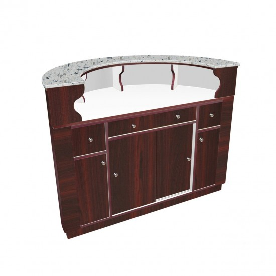 AVON Reception Desk (Round)