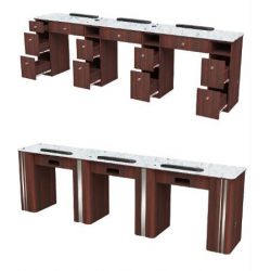 AVON I TRIPLE MANICURE TABLE WITH EXHAUST