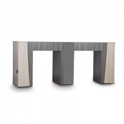 TIFFANY-DUO-TONE DOUBLE NAIL TABLE