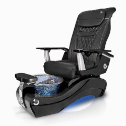 New Beginning- Black Solid Base Pedicure Chair