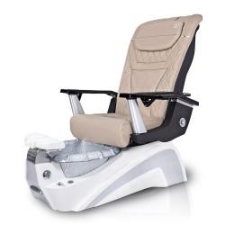Murano Pedicure Chair (Silver Base)