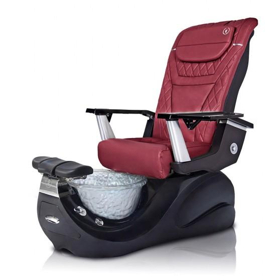 Vespa-R (Jet Black Base) Pedicure Chair
