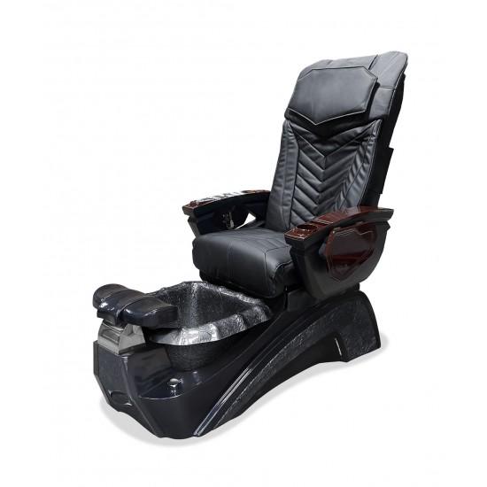 Versai MX - Pipeless Spa Pedicure Chair (Black)